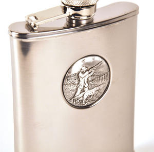 Sporting Shoot Hip Flask Thumbnail 3