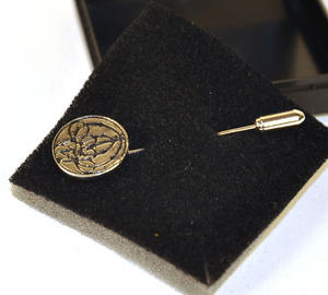 Charles Rennie Mackintosh 4 Bud Tie Pin Thumbnail 2
