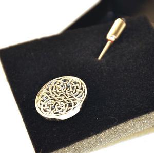 Celtic Neverending Knot Tie Pin Thumbnail 1