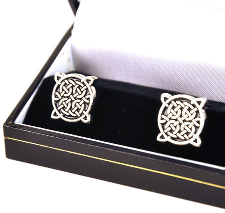 Cufflinks - 4 Point Celtic Knot