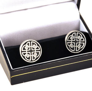 Celtic Circle Cufflinks Thumbnail 1