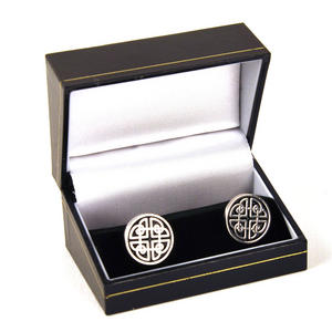 Celtic Circle Cufflinks Thumbnail 2