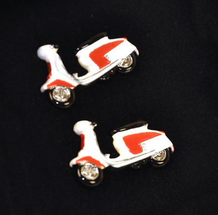 Cufflinks - Lambretta 3D