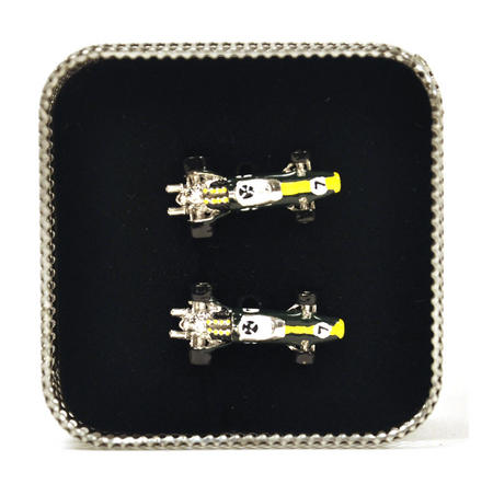 Cufflinks - Lotus Type 49 Racing Car 3D