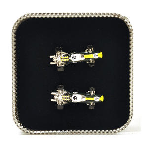 Cufflinks - Lotus Type 49 Racing Car 3D Thumbnail 1