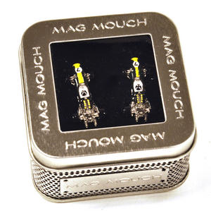 Cufflinks - Lotus Type 49 Racing Car 3D Thumbnail 2