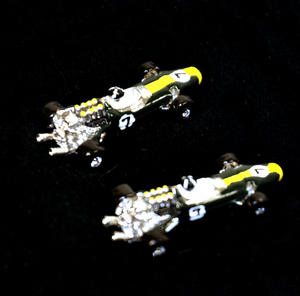 Cufflinks - Lotus Type 49 Racing Car 3D Thumbnail 3