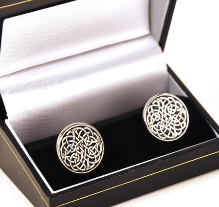 Cufflinks - Celtic Neverending Knot