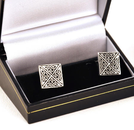 Cufflinks - Square Celtic