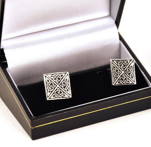 Cufflinks - Square Celtic Thumbnail 1