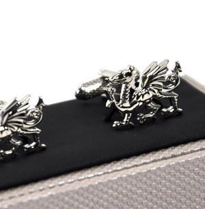 Welsh Dragon Cufflinks Thumbnail 3