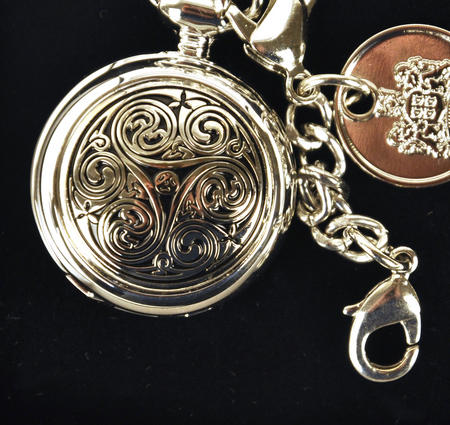 Celtic Triple Swirl Ladies Bag Watch
