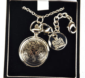 Celtic Triple Swirl Ladies Bag Watch Thumbnail 2