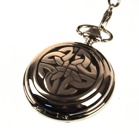 4 Triag Knot Celtic Pocket Watch