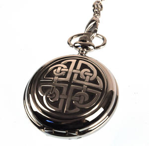 Celtic Square Knot Pocket Watch