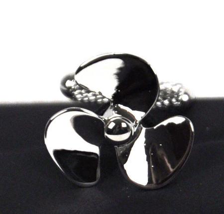Cufflinks - Silver Propellers