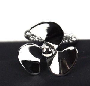 Cufflinks - Silver Propellers Thumbnail 1