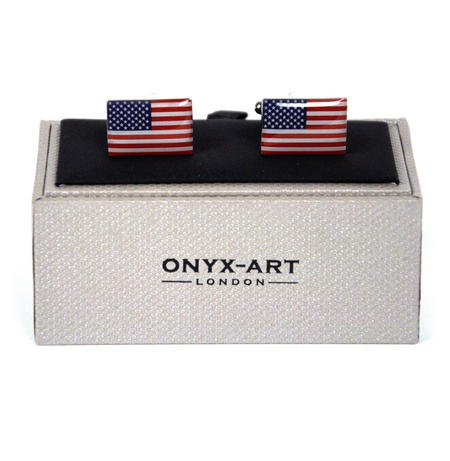 Cufflinks - Star Spangled Banner Usa Flag
