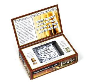 Book Lover - Fridge Magnet Poetry Set - Fridge Poetry Thumbnail 3