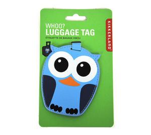 Owl Luggage Tag Thumbnail 1