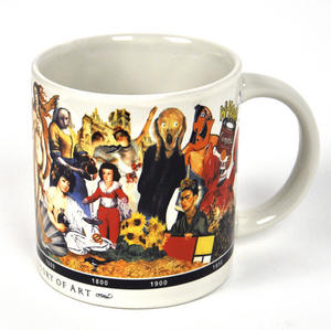 Brief History Of Art Mug Thumbnail 1