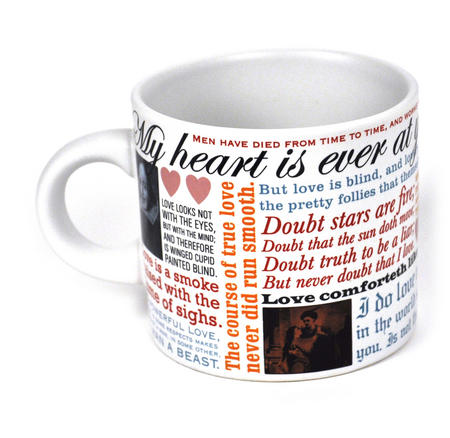 William Shakespeare Love Mug