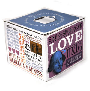 William Shakespeare Love Mug Thumbnail 2