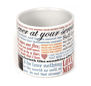 William Shakespeare Love Mug Thumbnail 3