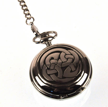 Celtic Lugh's Knot Pocket Watch