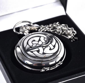 Celtic Lugh's Knot Pocket Watch Thumbnail 2