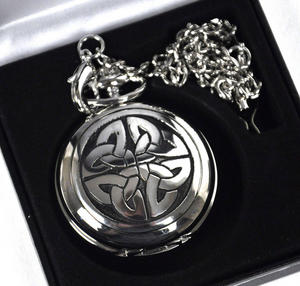 Celtic Lugh's Knot Pocket Watch Thumbnail 4