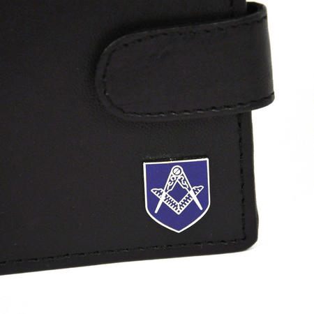 Masonic Leather Wallet