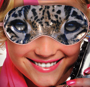 Leopard Eye Mask Thumbnail 1