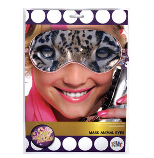 Leopard Eye Mask Thumbnail 2