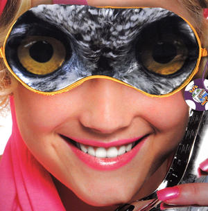 Owl Eye Mask Thumbnail 1