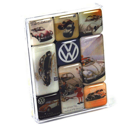 Volkswagen Fridge Magnet Set
