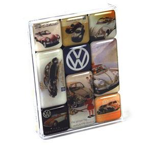 Volkswagen Fridge Magnet Set Thumbnail 1