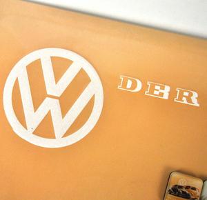 Volkswagen Fridge Magnet Memo Board Thumbnail 2
