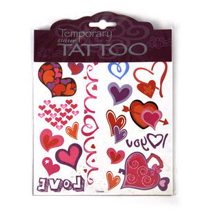 Love Temporary Tattoos - Random Designs Thumbnail 4