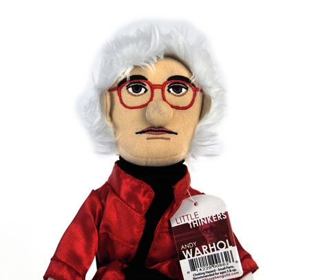 Andy Warhol  Soft Toy - Little Thinkers Doll