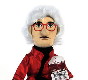 Andy Warhol  Soft Toy - Little Thinkers Doll Thumbnail 1