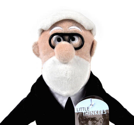 Sigmund Freud Soft Toy - Little Thinkers Doll