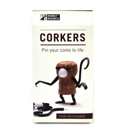 Corkers - Monkey - Bring Your Corks To Life!