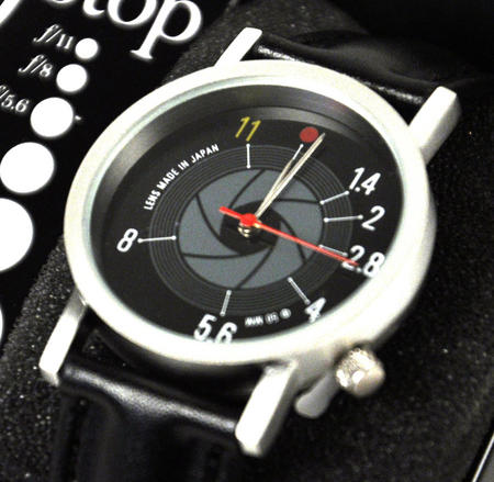F Stop Watch - Retro Slr Camera Wristwatch