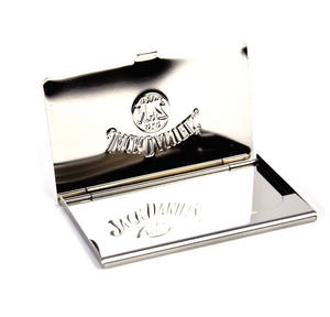 Jack Daniels Stainless Steel Business Card Case Thumbnail 4