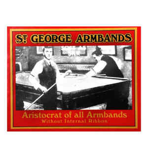 St. George Armbands - Rhodium Plated Classic Cuff Management Thumbnail 3
