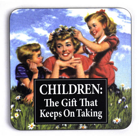 Cool Coaster - Children: The Gift That Keeps On Taking