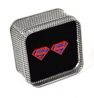 Cufflinks - Superman - Red On Blue Thumbnail 3