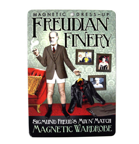 Sigmund Freud Finery - Magnetic Dress-Up Wardrobe