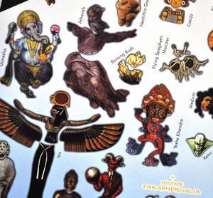 Omg Design Your Own Deity - Magnetic God Play Set Thumbnail 2